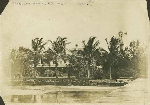 McAdow House from the River