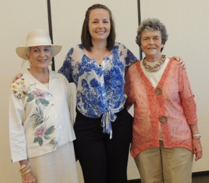 Scholarship recipients Lana Cardwell pictured with scholarship chairman Anne Simpson and Lana's grandmother Shirley Mearns. Lana was one of the club's five scholarship recipients.