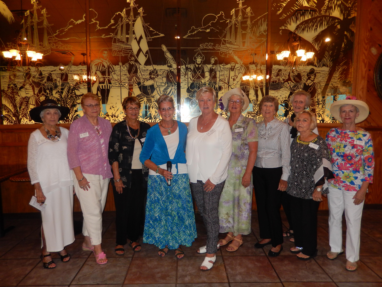 PGGC Mentors ` L to R Anne Simpson, Carolyn Honour, Karen Noonan, Struss Shirk, Claudia Chopp, Linda Walsh, Molly Reifeis, Nancy French, Marion Wester and Bonnie Rehling